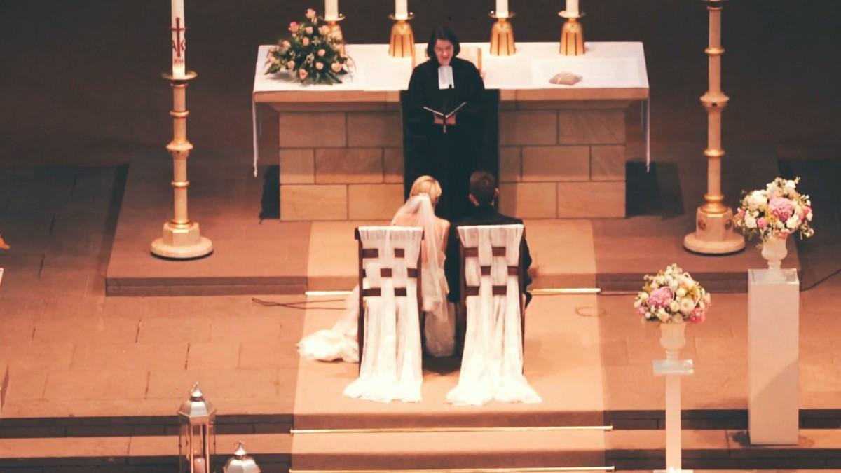 Abdinghofkirche Paderborn Hochzeitsfotograf Hochzeitsvideo
