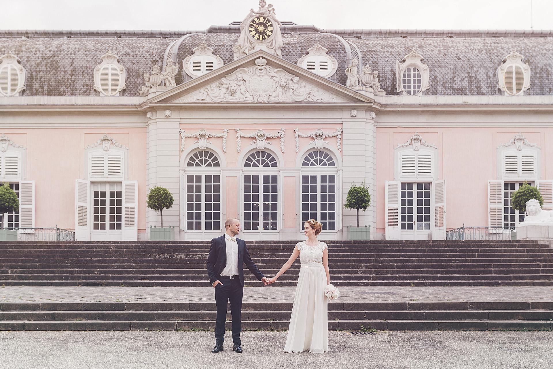 Anna & Tomas Hochzeitsfilm| Hochzeitsfotograf Schloss Benrath | Steigenberger Hotel Düsseldorf