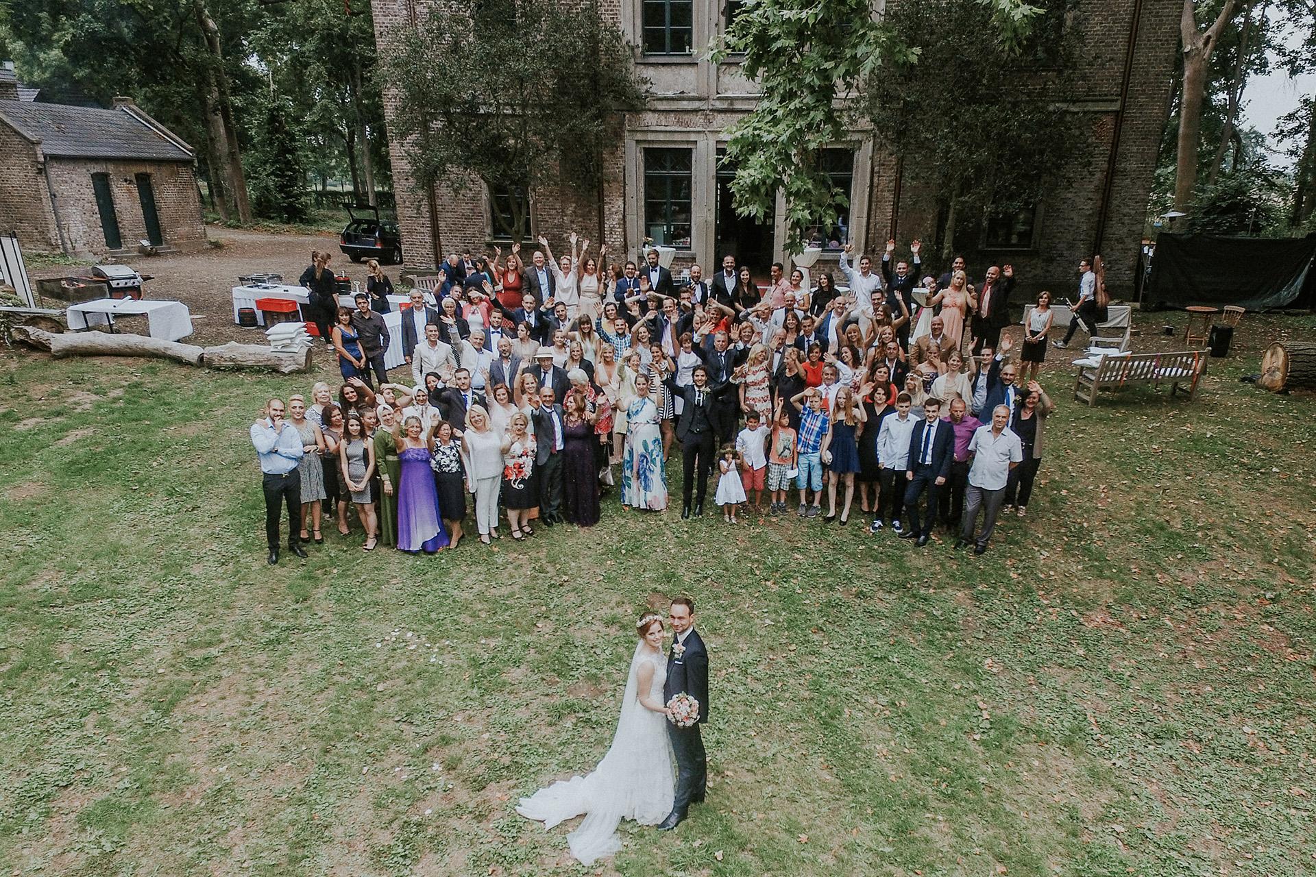 Schloss Orr Hochzeitsvideo Hochzeitsfotos Pulheim bei Köln