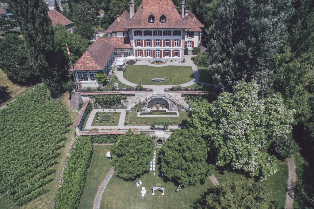 Hochzeitsvideo Schweiz Gerzensee Bern Zürich Hochzeitsfotograf Hochzeitsfilm Videograf Hochzeit Fotograf Köln Drohne Luftaufnahmen
