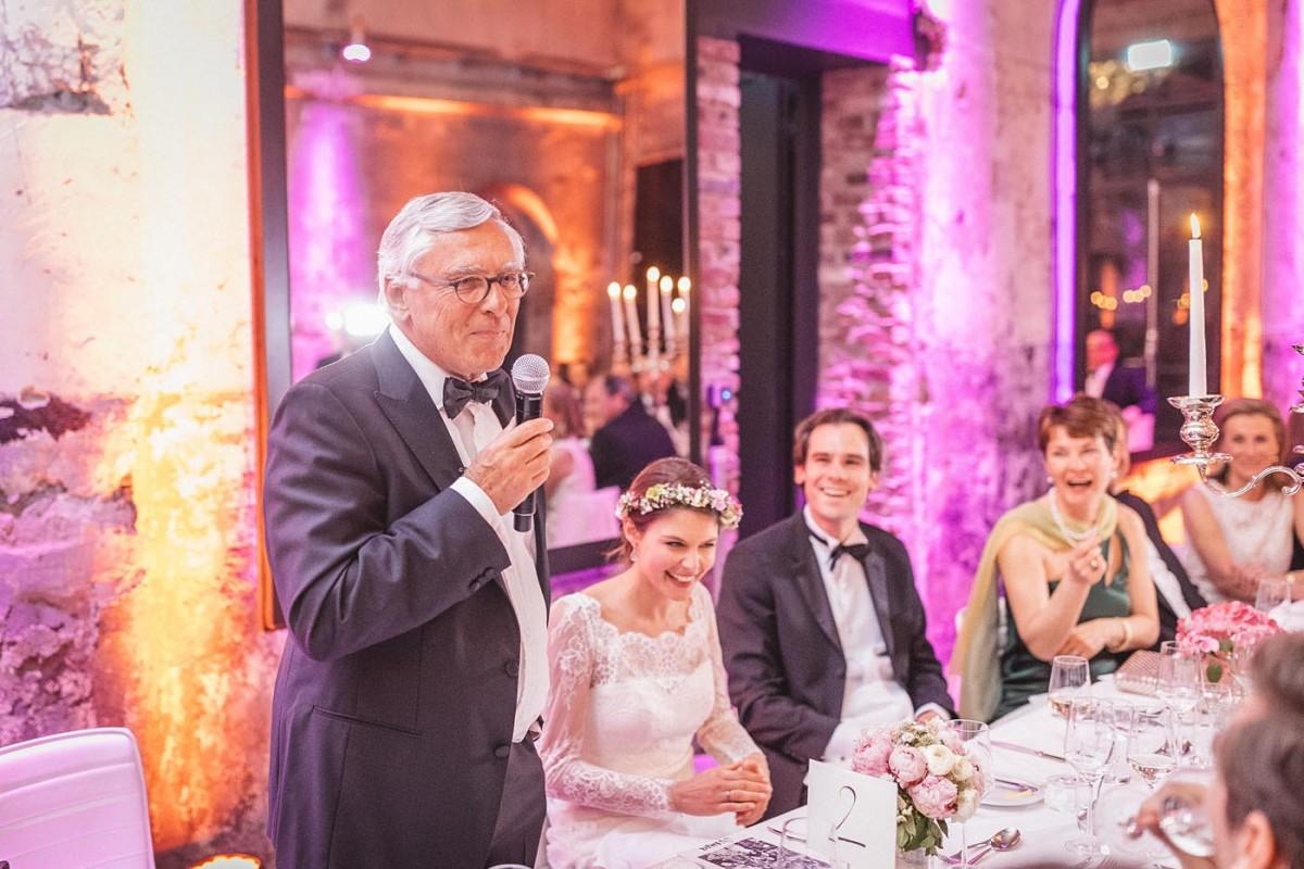 Hochzeitsfotograf Köln Harbour Club New Yorker Rede Brautvater