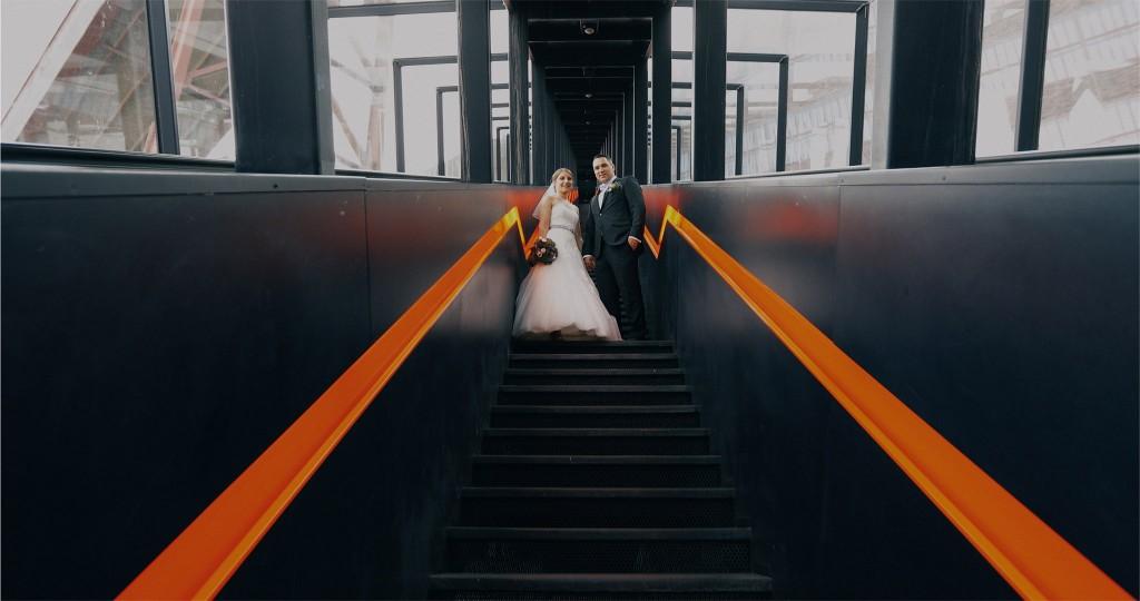 Hochzeit Zeche Zollverein Essen Hochzeitsfotos Hochzeitsfotograf Stefan Gatzke