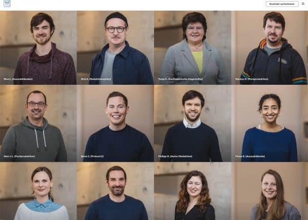 Unternehmensbilder für TVT Media Köln | Kölner TV-Produktionsfirma